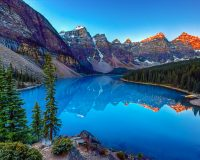 Natural wonders of Banff, Canada